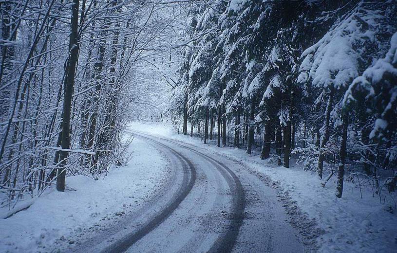 Πρωτοχρονιά σε χειμωνιάτικο σκηνικό