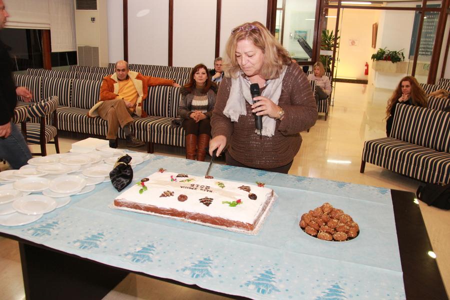 Έκοψε την πίτα του νέου έτους το Δημοτικό Συμβούλιο 3Β