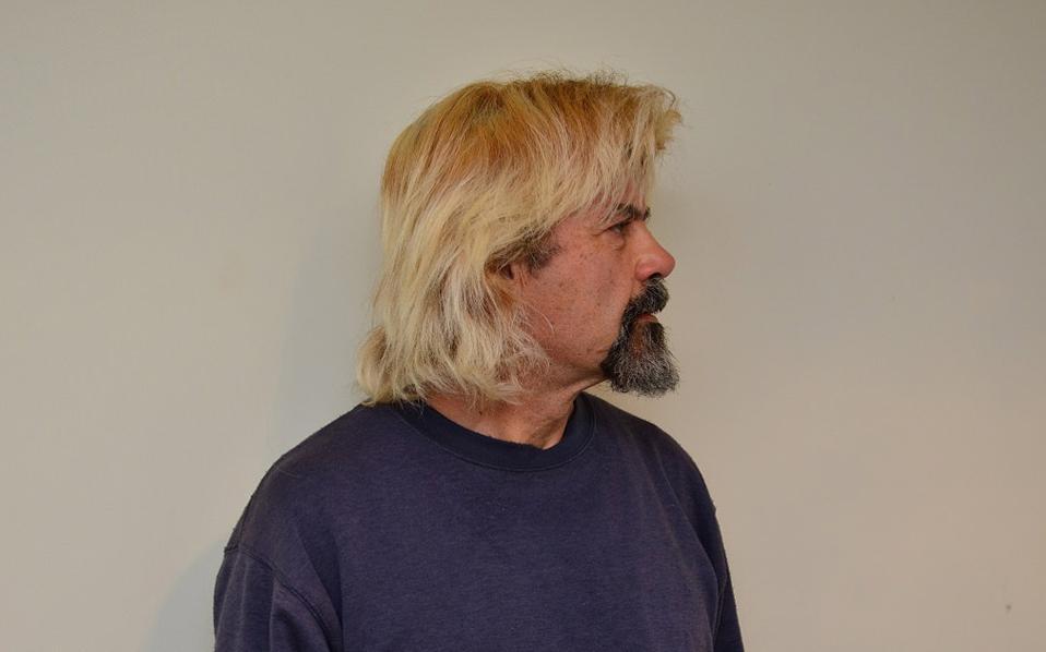 Πως η αστυνομία παγίδευσε τον αγνώριστο με μακρύ ξανθό μαλλί Χριστόδουλο Ξηρό (φωτογραφίες)