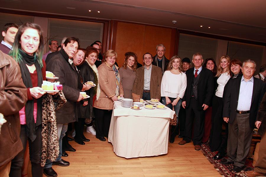 Αισιόδοξη η παράταξη Πανά έκοψε την πίτα της (photos)