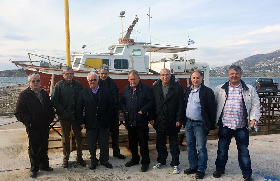 Ξεκινά ο εκσυγχρονισμός στο Αλιευτικό Καταφύγιο Παλαιάς Φώκαιας