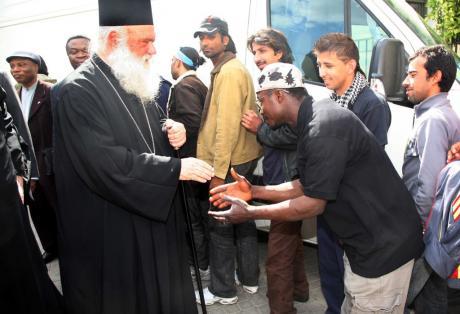 Μήνυμα Ιερώνυμου για την προσφυγική τραγωδία: «Αρκετά!»
