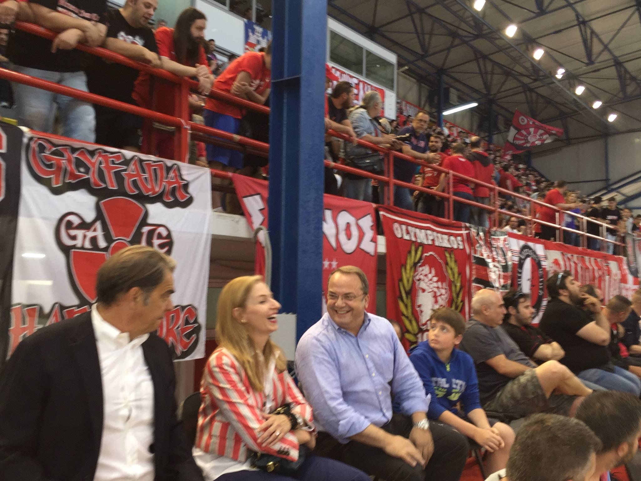 Ποια ομάδα υποστήριζε στον τελικό ΝΟΒ-ΟΣΦΠ ο Δήμαρχος;