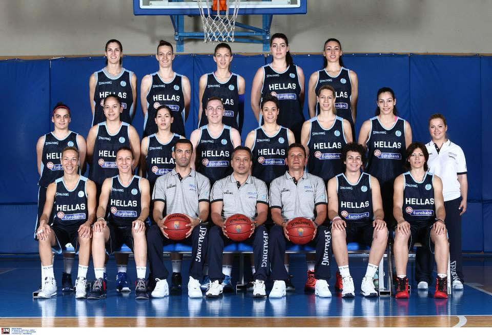 Έξι αθλήτριες του Πρωτέα Βούλας στην Εθνική Ομάδα που πάει Ευρωμπάσκετ