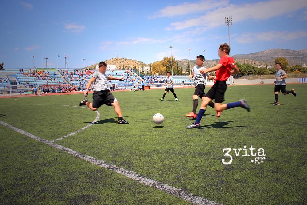 Μάθημα ζωής το Διασχολικό Πρωτάθλημα ποδοσφαίρου 3Β (photos)