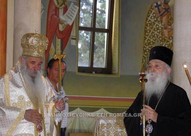 Ξεχωριστή η σημερινή λειτουργία στη Βουλιαγμένη με τον Μητροπολίτη Κεφαλληνίας