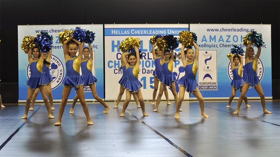 Έκλεψαν την παράσταση οι Αμαζόνες Βάρης στο πρωτάθλημα Cheer