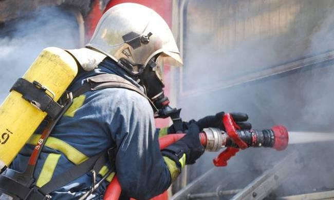 Πυρκαγιά σε εργοστάσιο ανακύκλωσης στον Ασπρόπυργο