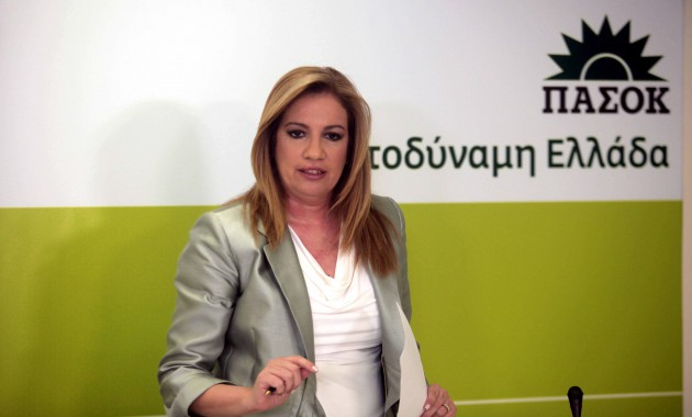 Φώφη Γεννηματά, η νέα πρόεδρος του ΠΑΣΟΚ
