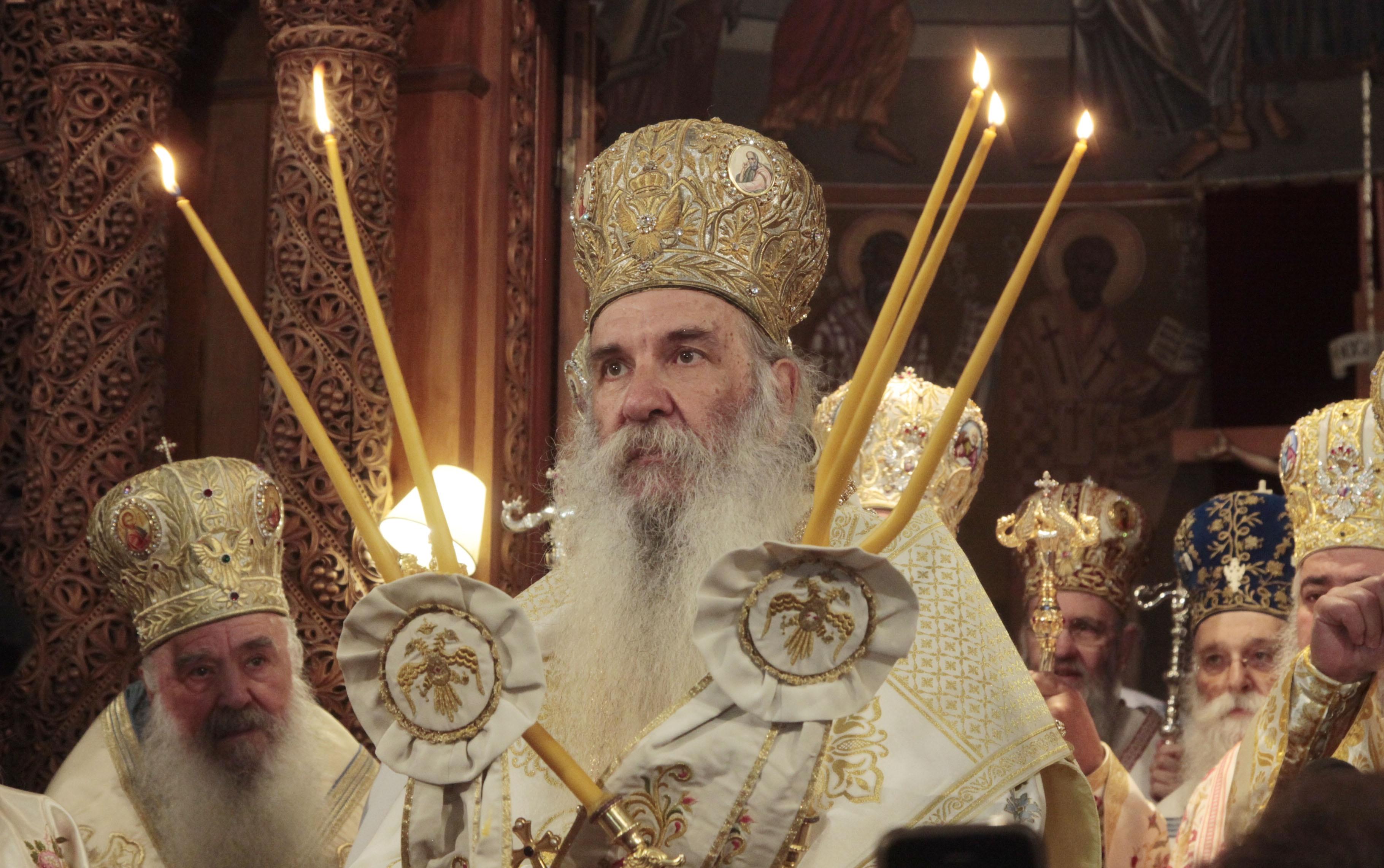 Το τελευταίο κήρυγμα του Κεφαλληνίας Γεράσιμου στη Βουλιαγμένη (βίντεο)