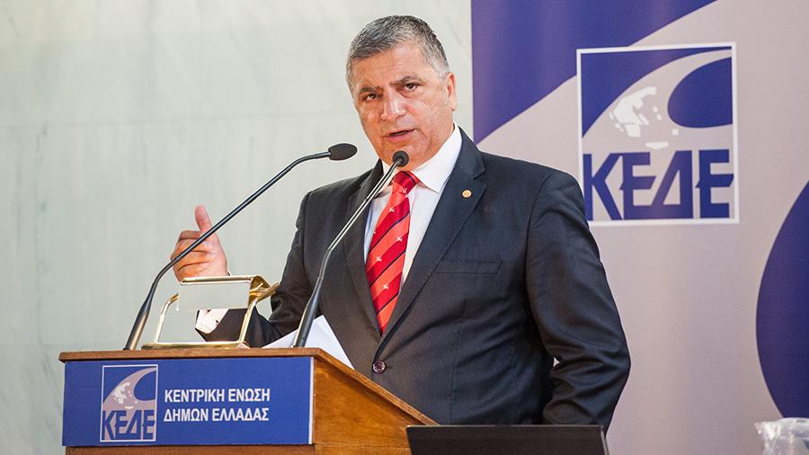 Υποψήφιος για την Περιφέρεια Αττικής ο Γιώργος Πατούλης