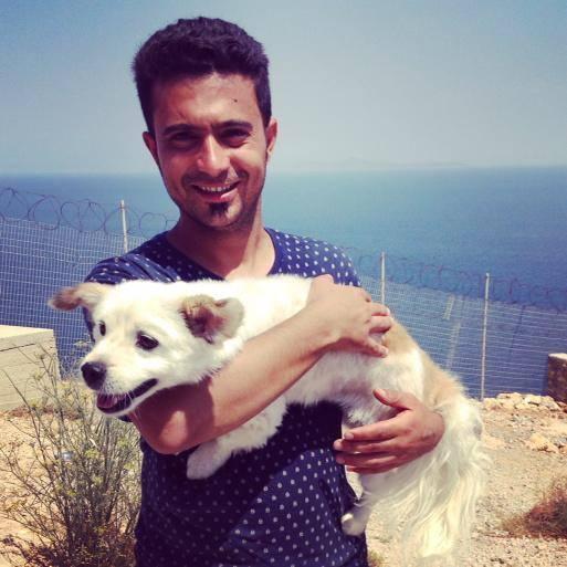 Ο πρόσφυγας και ο σκύλος του