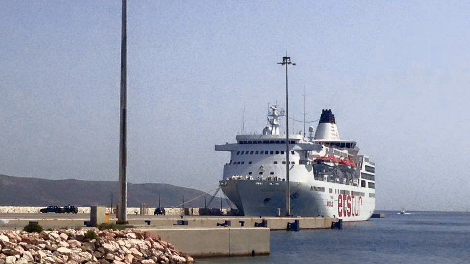 Στο Καστελόριζο κατέπλευσε το Aegean Paradise ως άλλο ...Love Boat!