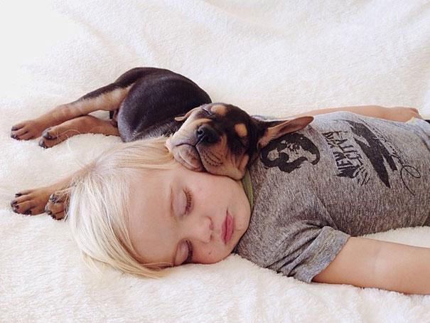 Ο ύπνος με κατοικίδια στη βρεφική ηλικία μειώνει τον κίνδυνο άσθματος
