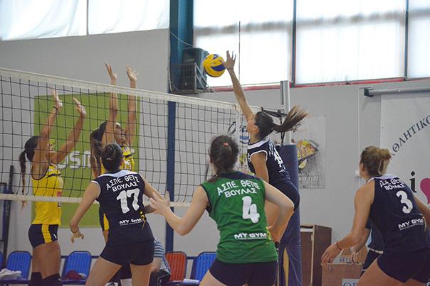 Εξαιρετική αρχή στο γυναικείο πρωτάθλημα volley η Θέτις Βούλας