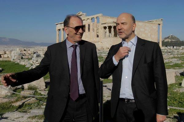 Αισιοδοξία  Μοσκοβισί για την εκταμίευση της δόσης στην Ελλάδα
