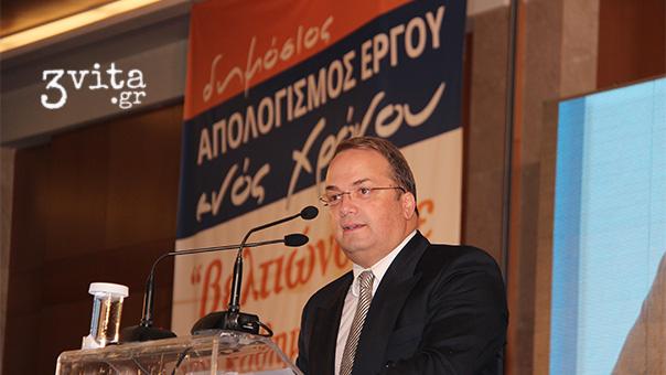 Απολογισμό με ...εξαγγελίες έκανε ο Γρηγόρης Κωνσταντέλλος