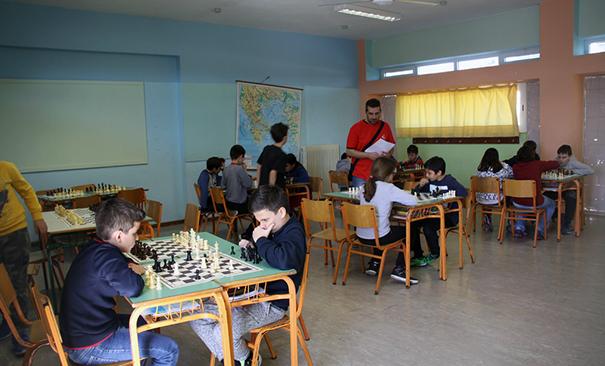 Οι νεαροί Κασπάροφ από Βάρη, Βούλα, Βουλιαγμένη και Γλυφάδα