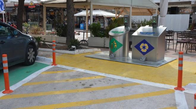 Εγκαταστάθηκαν τα νέα συστήματα υπογείων κάδων στο Δήμο Βάρης Βούλας Βουλιαγμένης