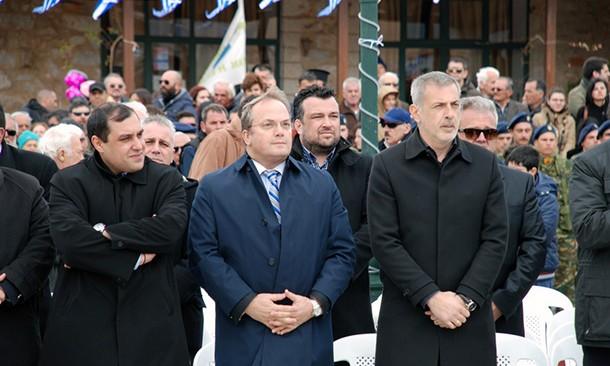 Στην παρέλαση της Αρεόπολης ο Γρηγόρης Κωνσταντέλλος