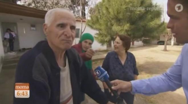 Μαθήματα ανθρωπιάς έδωσε μέσω γερμανικής τηλεόρασης ένα ζευγάρι ηλικιωμένων