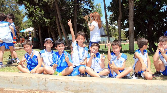 Γιορτή αθλητισμού για τους μικρούς πρωταγωνιστές του ΑΟΒ (photos)