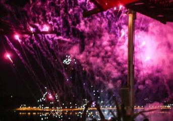 Φεστιβάλ πυροτεχνημάτων τη Δευτέρα στο Island