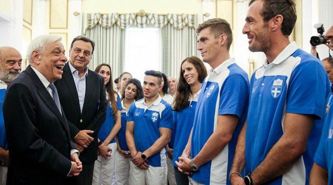 Πρόεδρος της Δημοκρατίας σε Ολυμπιονίκες: Αποτελείτε παράδειγμα ζωής!