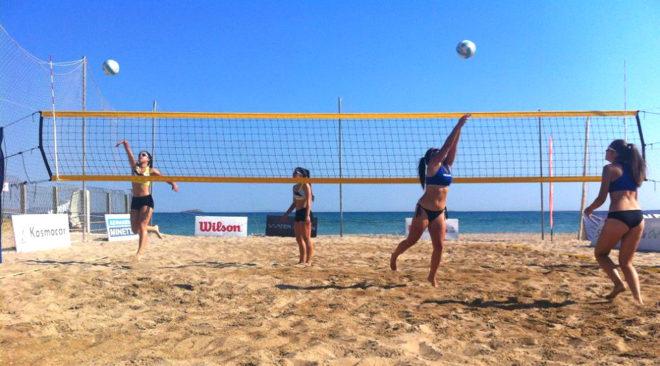 Μένουμε Βάρκιζα τον Αύγουστο για beach volley