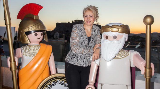 Συλλεκτικές φιγούρες plamobil με έμπνευση από την αρχαία Ελλάδα