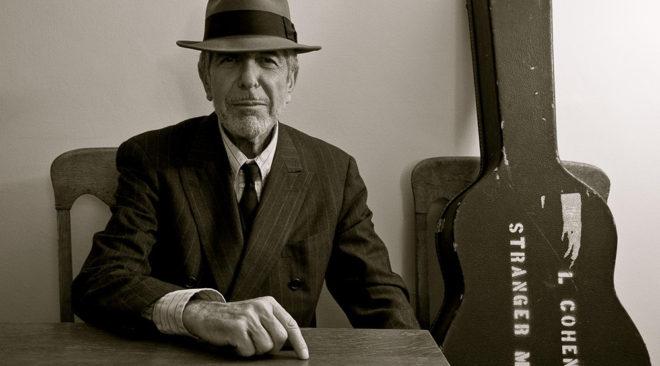Ένα δάκρυ για τον Leonard Cohen
