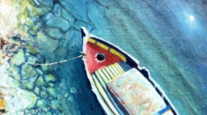 Έκθεση ζωγραφικής του Νικόλαου Πολύζου στη Βουλιαγμένη