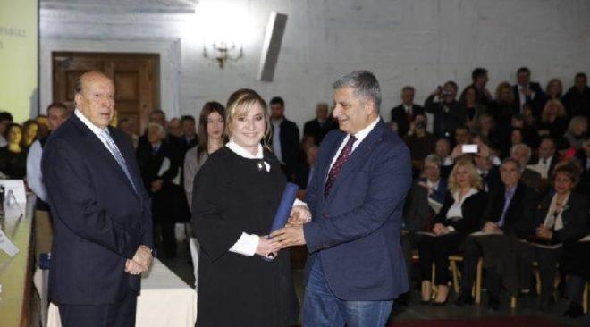 Δημοσιογραφικό βραβείο  για θέματα Τοπικής Αυτοδιοίκησης στη Κ. Τασσοπούλου
