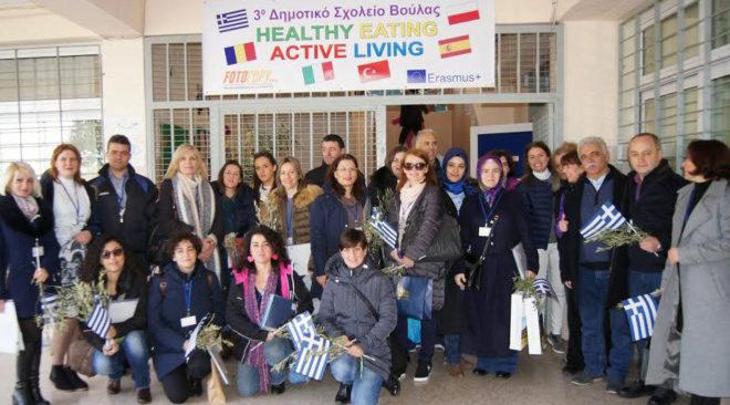 Εκπαιδευτικούς από 5 χώρες φιλοξένησε το Δημοτικό Σχολείο Πανοράματος Βούλας