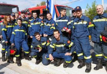 Εθελοντές Πυρασφάλειας Βάρης: 3.282 ώρες βάρδιας σε ένα χρόνο!
