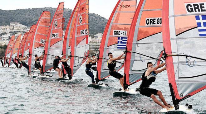 Η Βουλιαγμένη φιλοξενεί ιστιοδρομίες της Athens Eurolymp Week