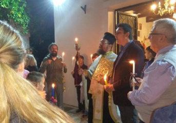 Η Ανάσταση στο παρεκκλήσι του ΠΙΚΠΑ Βούλας