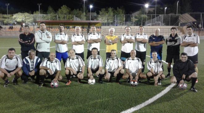 Ποδοσφαιρικό ...ντέρμπι βετεράνων μεταξύ Παναθηναϊκού και Άρη Βούλας