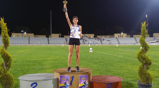 1η στο Πανελλήνιο Σχολικό Πρωτάθλημα στίβου η Λαβασά της Βουλιαγμένης