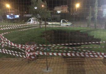 Καμία ευθύνη πουθενά για την τρύπα στην πλατεία Διλόφου, κατά την ΕΔΕ