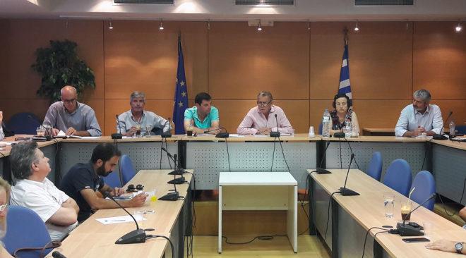 Σύσκεψη για τη διαχείριση απορριμμάτων στην Ανατολική Αττική