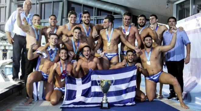 Παγκόσμιοι πρωταθλητές οι Νέοι της Εθνικής Ελλάδος πόλο