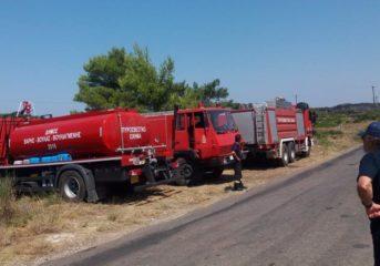 Στήριξη στους εθελοντές της πυροπροστασίας από τον Πασακυριάκο