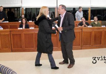 Τίμησε τον Φιλάρετο Χατζηστεφάνου το Δημοτικό Συμβούλιο των 3Β