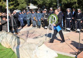 Τίμησαν τους πεσόντες των Ιμίων στην πλατεία Βούλας