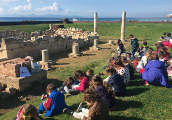 1ο Νηπιαγωγείο Βούλας: Μάθημα στον ανοιχτό ουρανό