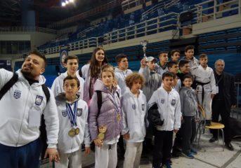 Σάρωσε τα μετάλλια στο Πανελλήνιο Πρωτάθλημα Ju Jitsu ο Λεύκαρος