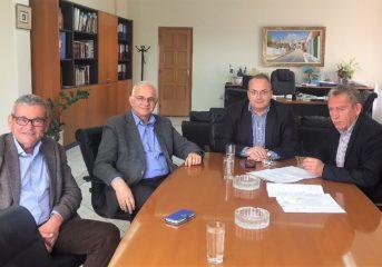 Συνάντηση Φιλίππου και Κωνσταντέλλου για την πορεία των έργων
