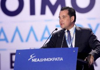 Ο Άδωνις Γεωργιάδης μιλά για τις πολιτικές εξελίξεις στη Βάρκιζα
