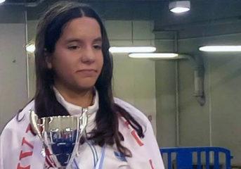 Πρωταθλήτρια Ελλάδας η Αριάδνη Νάσκαρη του Ομίλου Ξιφασκίας Γλυφάδας
